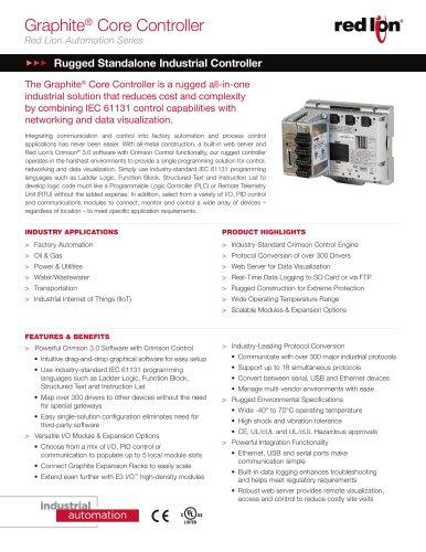 Graphite ®  Core Controller