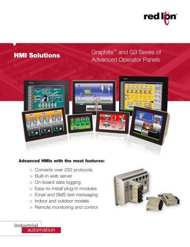 Graphite Series of Advanced Operator Panel