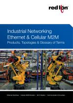 Industrial Networking Ethernet & Cellula M2M: Products, Topologies & Glossary of Terms - 1