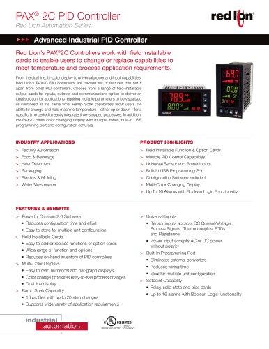 PAX® 2C PID Controller