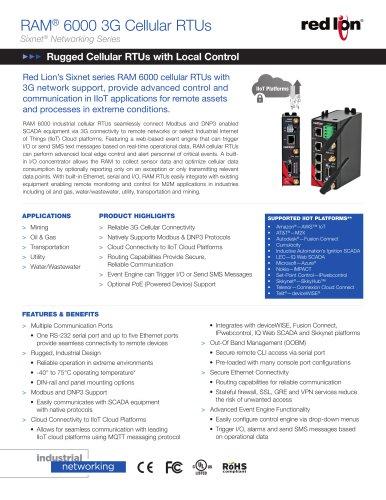 RAM-6000 3G