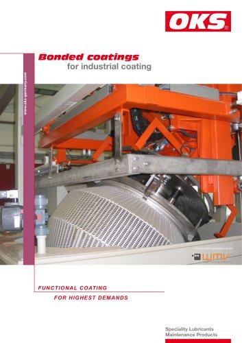 Bonded coatings for industrial coating