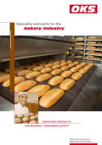 OKS Speciality lubricants for the bakery industry