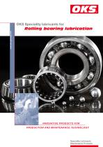 Rolling bearing lubrication