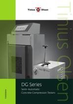 DG Series Semi-Automatic Concrete Compression Testers from Tinius Olsen