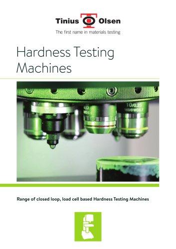 Indentation Hardness Testers