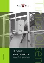 IT Series - HIGH CAPACITY Impact Testing Machines from Tinius Olsen
