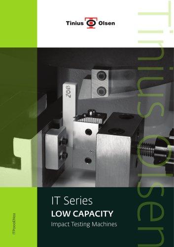 IT Series - LOW CAPACITY Impact Testing Machines from Tinius Olsen