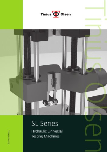 SL Series - Hydraulic Universal Testing Machines from Tinius Olsen