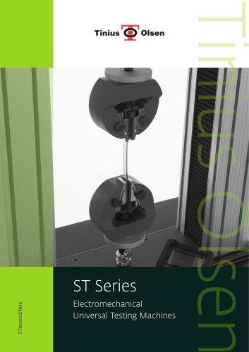 ST Series - Electromechanical Universal Testing Machines from Tinius Olsen