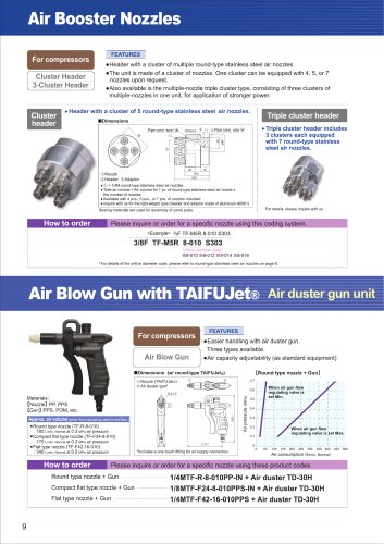 Air Blow Gun with TAIFUJet