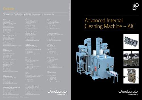 Advanced Internal Cleaning Machine AIC