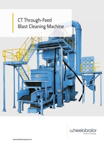 CT Through-Feed Blast Cleaning Machine