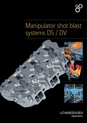 Manipulator shot blast systems DS / DV