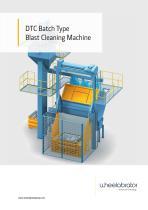 Wheelabrator DTC Batch Type Blast Cleaning Machine