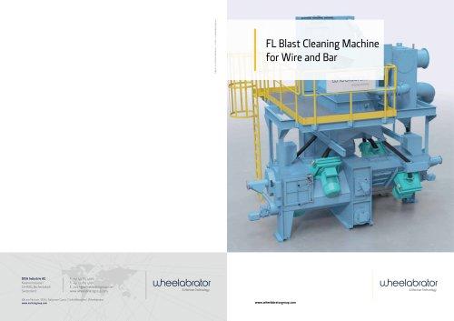 Wheelabrator FL Wire & Bar Descaling machine