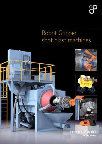 Wheelabrator Robot Gripper shot blast machines