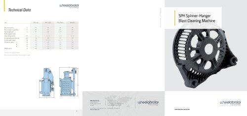 Wheelabrator SPH Spinner-Hanger Blast Cleaning Machine