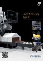 Wheelabrator Type G Roller Conveyor