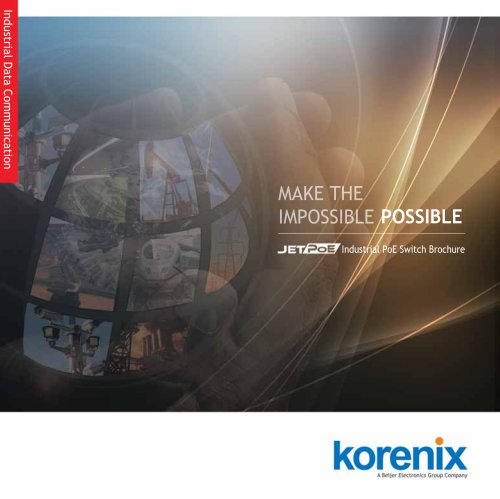2015 Industrial PoE Switch Brochure