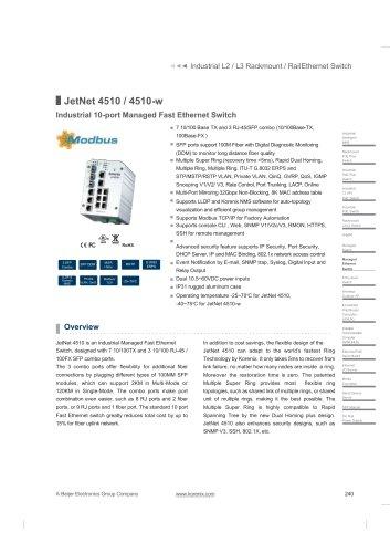 JetNet 4510 / 4510-w