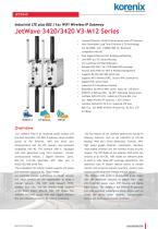 JetWave 3420/3420 V3-M12 Series