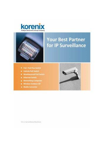 Korenix 2011 IP Surveillance Brochure