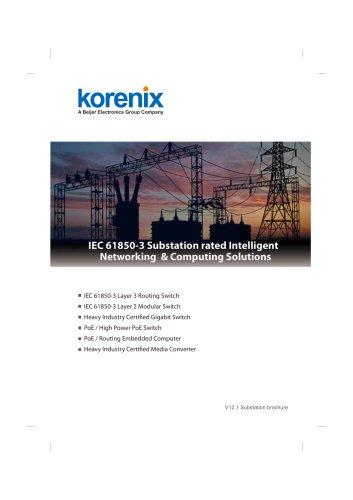 Korenix 2012 Substation Automation Brochure