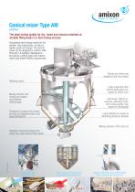 Conical mixer Type AM