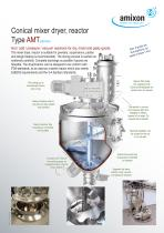 Conical vertical dryer Type AMT
