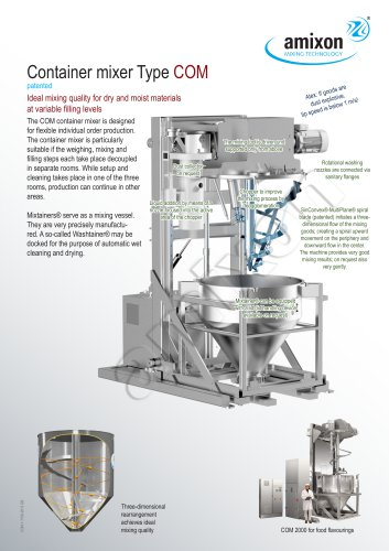 Container mixer Type COM