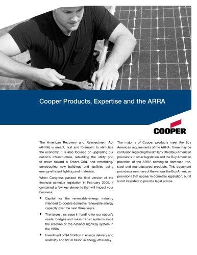 Cooper ARRA Flyer