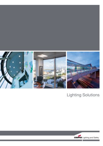 Cooper Lighting Solutions Catalogue 2013