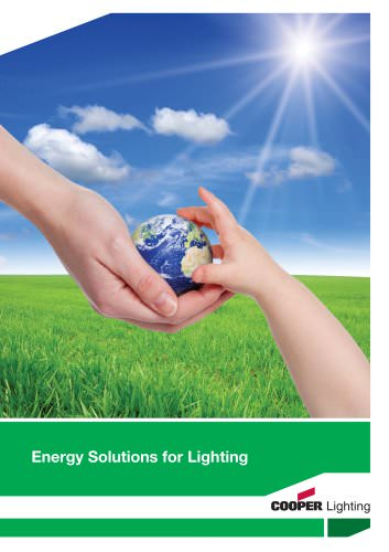 Energy Solutions for Lighting