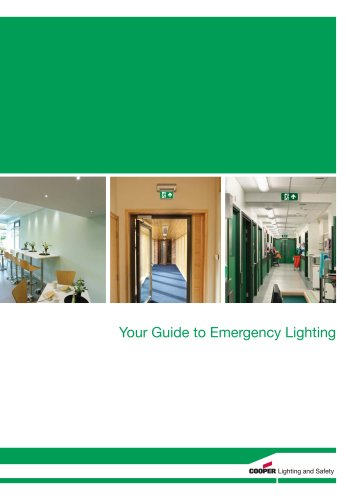 Guide to Emergency Lighting