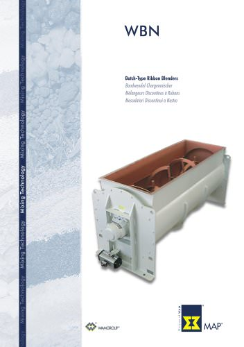 Batch-Type Ribbon Blenders WBN Brochure