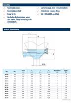 Bin Activators food-grade design BAF - 3