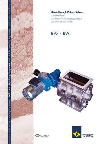 Blow- Through Rotary Valves RVS-RVC Brochure