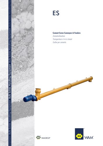 Cement Screw Conveyors &Feeders ES Brochure