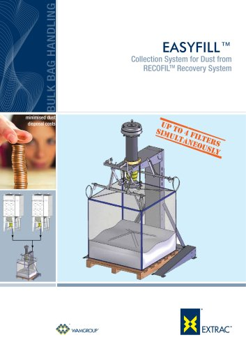 Collection System for Dust from Recofil Recovery System EASYFILL Brochure