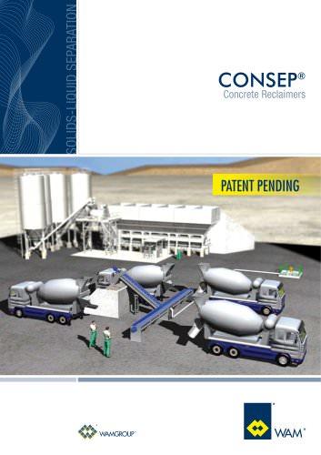Concrete Reclaimers CONSEP Brochure