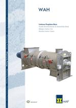 Continuous Ploughshare Mixers WAH Brochure