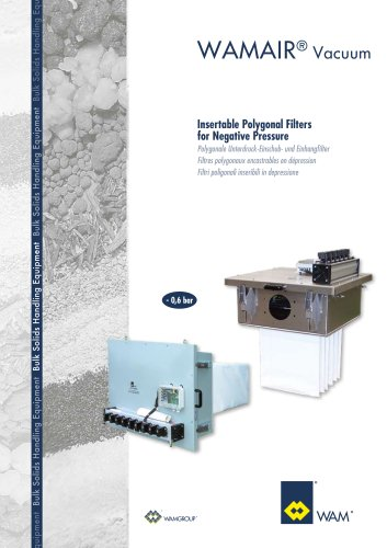 Dust Collectors WAMAIR® Vacuum  Brochure
