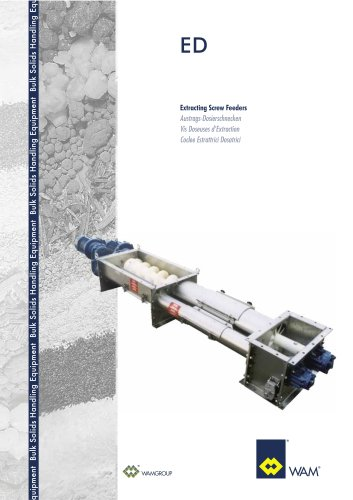 Extracting Screw Feeders ED Brochure