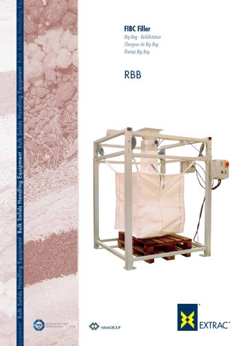 FIBC Filler Big Bag Befullstation RBB Brochure