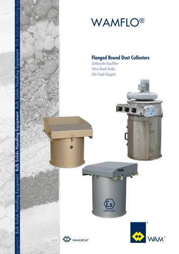 Flanged Round Dust Collectors WAMFLO Brochure