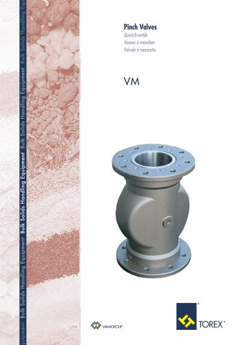 Pinch Valves VM Brochure