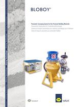 Pneumatic Conveying System for dry Premixed Materias BLOBOY Brochure