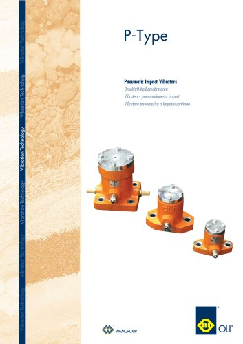 Pneumatic Import Vibrators P-TYPE Brochure