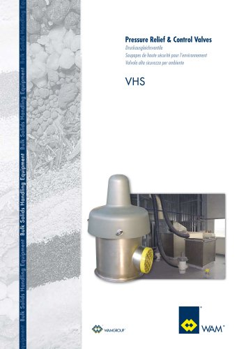 Pressure Relief & Control Valves VHS Brochure